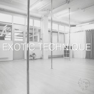 Exotic Technique – 05.08. / 19:25