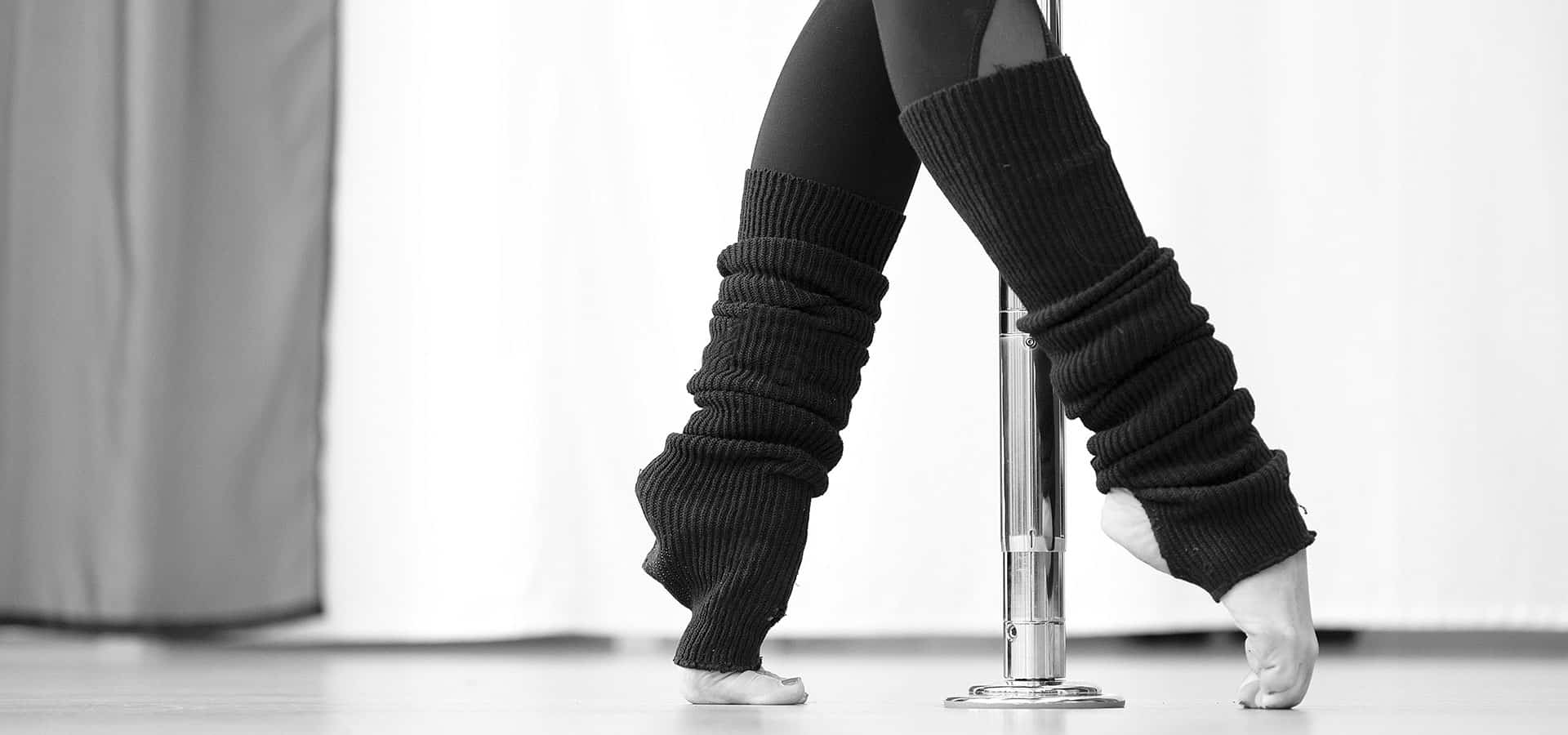 poledance walk stretching