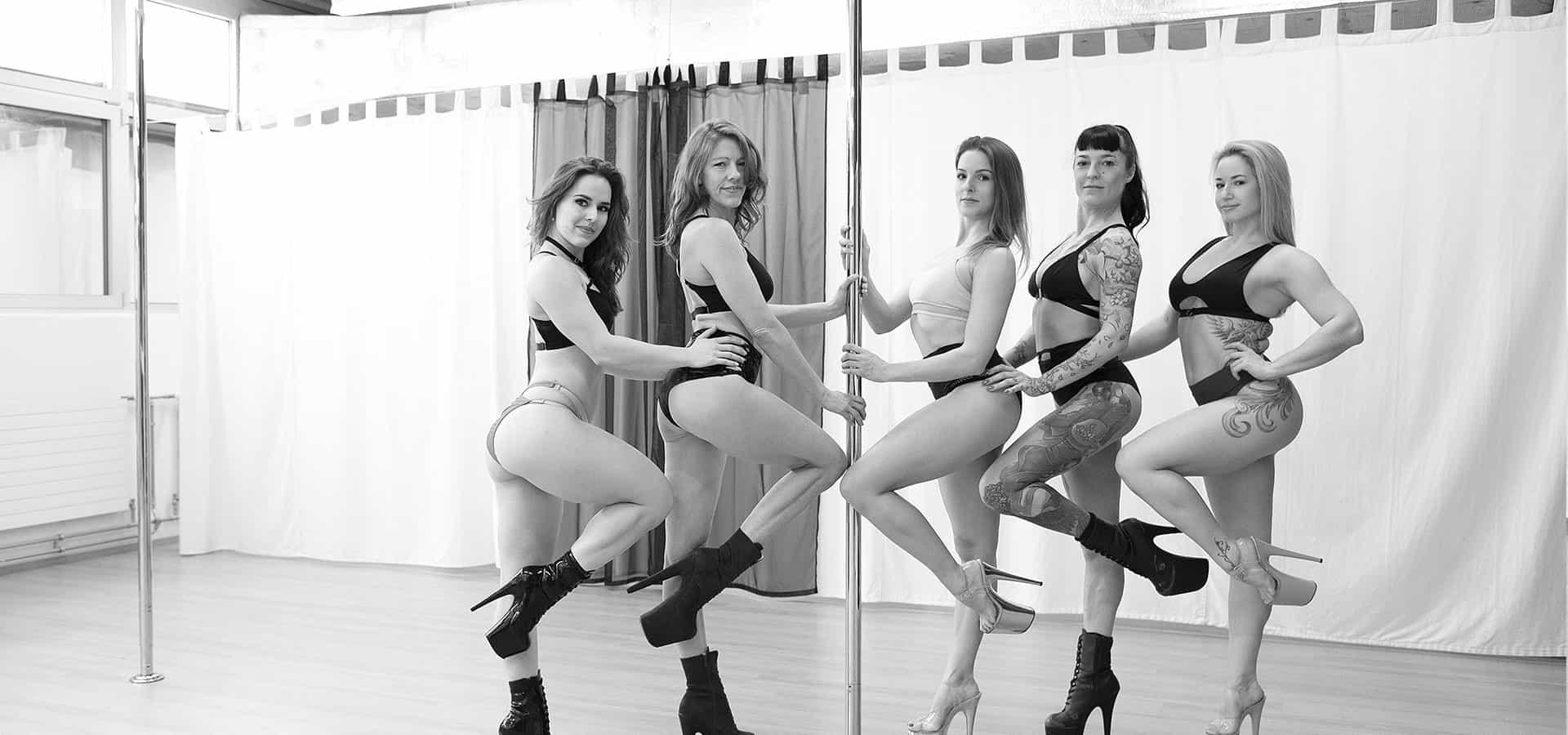 Gravity Arts poledance Team