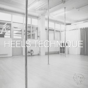 Heels Technique Exotic Technique Pole Dance Heel
